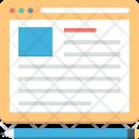 Web Design Page Icon