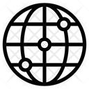 Web Network Global Icon