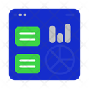 Web Graph Investment Icon