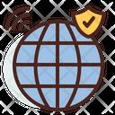 Web Web Browser Shield Browser Shield Icon