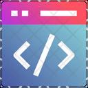Web Application Html Icon