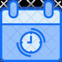 Web Clock Time Icon