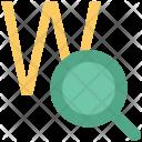 Web Search Domain Icon