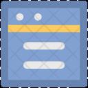 Web Blog Content Icon