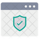 Web Web Page Safety Icon