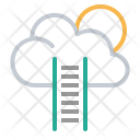 Web Cloud Computing Icon