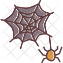 Web Spider Scary Icon