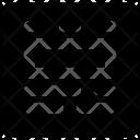 Web Grid Coding Icon