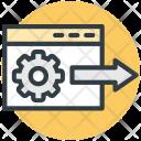 Web Seo Service Icon