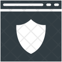 Web Security Protection Icon