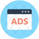 Web Advertisement Ads Icon