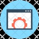 Web Setting Options Icon