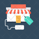 Web Store Online Icon
