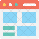 Web Template Layout Icon