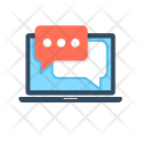Web Chat Online Icon