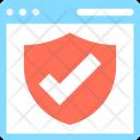 Web Protection Sheild Icon