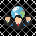 Web Clientserver World Icon