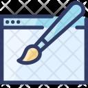 Web Design Browser Icon