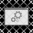 Web Optimization Gear Icon