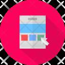 Web Chart Paper Icon