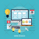 Web Design Computer Icon