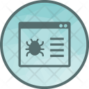 Web Crawler Virus Icon