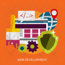Web Development Seo Icon