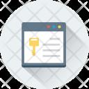 Web Access Online Icon