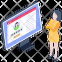 Web Account Icon