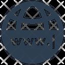 Web Address Domain Internet Icon