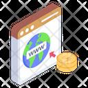 Internet Address Web Address Www Icon