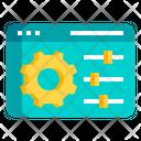 Web Adjustment Icon