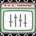 Web Adjustment Web Interface Web Icon