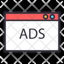 Web Ads Web Advertising Web Marketing Icon