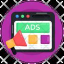 Web Advertisement Web Ads Web Layout Icon