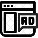 Web Ad Icon