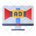 Web Advertising Icon