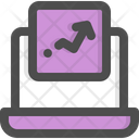 Web Advertising Online Online Analytical Icon
