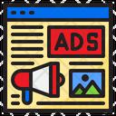 Web Advertising Advertising Magaphone Icon