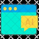 Web Ai Icon