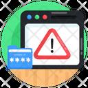 Alert Message Caution Web Alert Icon
