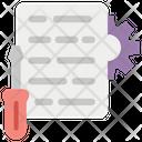 Web Algorithm Programming Web Development Icon