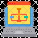 Web Algorithm Web Hierarchy Web Sitemap Icon