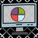 Pie Analysis Data Analysis Market Research Icon