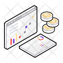 Web Analysis Web Analytics Web Development Icon