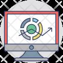 Web Analysis Traffic Icon