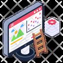 Web Development Web Analysis Site Analysis Icon