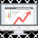 Web Analysis Website Analysis Traffic Statistics Icon