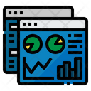 Admin Web Analytic Icon
