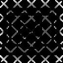 Laptop Graph Icon